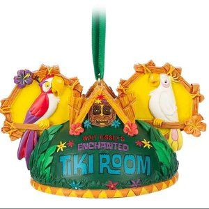 Disney Parks Enchanted Tiki Room Ear Hat Ornament